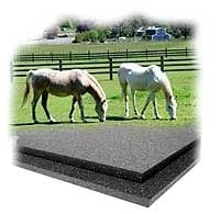 Agriculture rubber mat