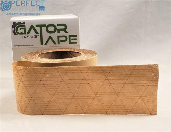 Commercial grade double sided tape for flooring