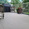 SnapGRID LX deck and patio interlocking tiles beige and black