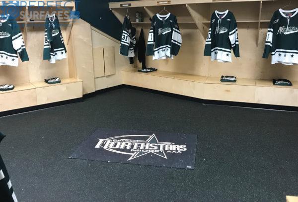 hockey dressing room rubber rolls