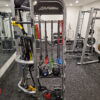 commercial gym high quality interlocking rubber tiles