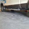 gorillacor grey square polyvinyl garage flooring
