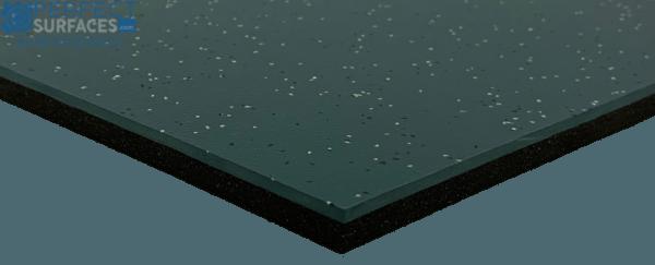 EPDM Green Rubber commercial Flooring Tiles