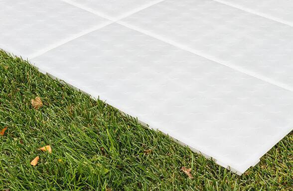 FastDeck ground protection event floor tile