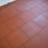 deck and patio red rubber tile