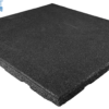 black rubber tile indoor and outdoor high impact