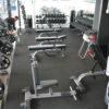 comercial rubber floor gym tile