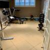 full color home gym tile