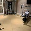 rubber gym tile