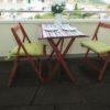 Outdoor rubber patio tile