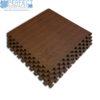 dark wood colour interlocking foam puzzle mat