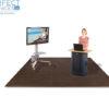 Trade Show or special event interlocking foam tiles