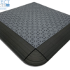 inddor and outdoor snap grid tile with edge ramp
