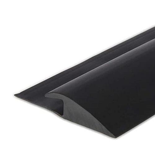black reducer edge for rubber flooring