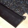 reducing edge ramp for rubber floor