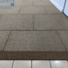 full colour rubber tiles with edge ramp