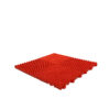 red snap together garage floor tiles