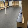 arena blue speckled rubber flooring