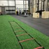 Solid Green athletic training turf