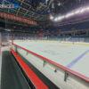 black rubber mat for hockey arena flooring