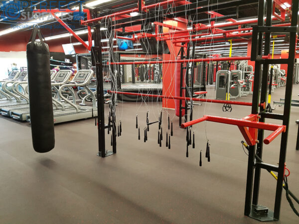 Boxing crossfit rubber gym flooring