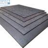 double vulcanized low voc rubber gym mats