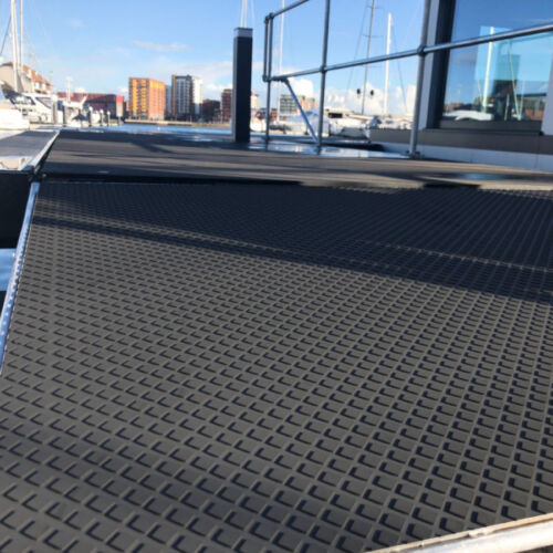 rubber matting for boat docks
