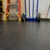industrial black rubber matting