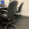 grey speckled rubber office and commercial rubber tiles