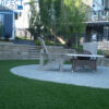 artificial turf for patio area