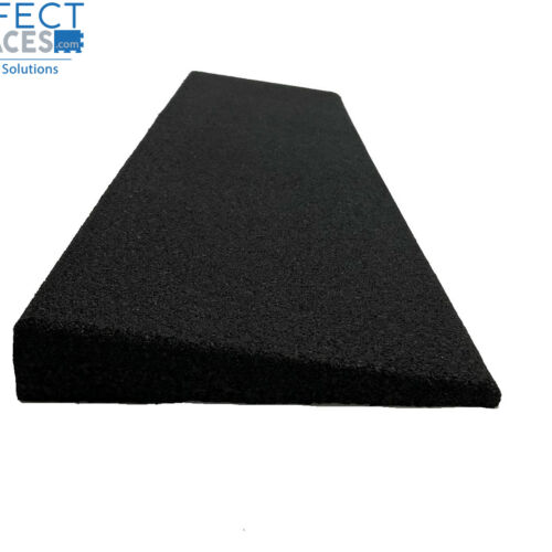 PlaySafe PERFORM rubber playground tile edge ramp