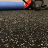home gym rubber floor interlock tiles